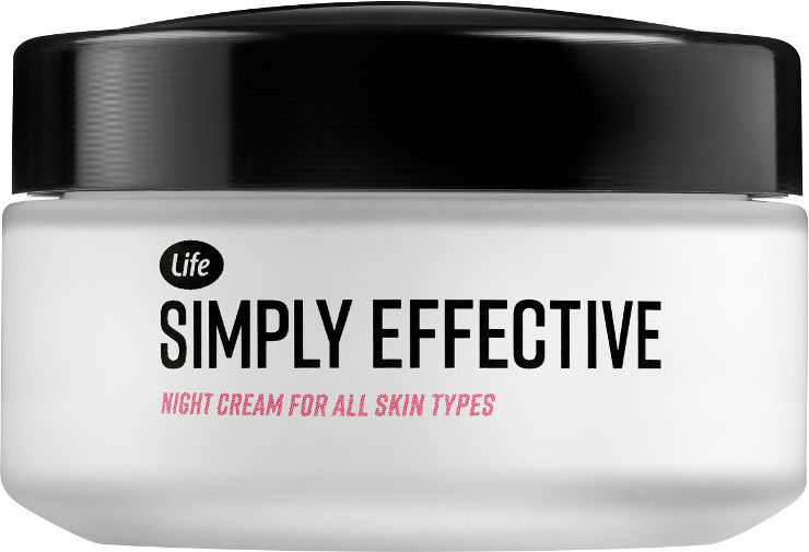 SIMPLY EFFECTIVE קרם לילה לכל סוגי העור