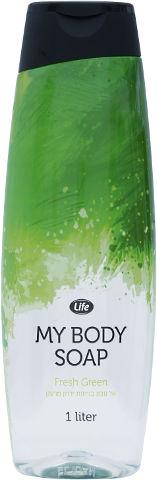 סבון גוף fresh green