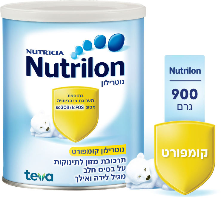 קומפורט - תרכובת מזון לתינוקות על בסיס חלב