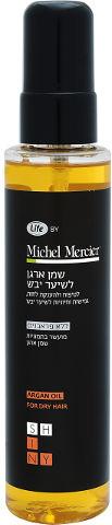 MICHEL MERCIER שמן ארגן לשיער יבש