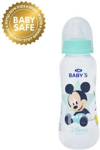 BABYS בקבוק צר מיקי מאוס ללא ביספינול