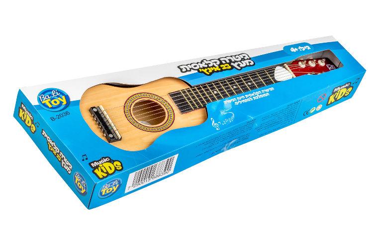 גיטרה קלאסית מעץ - 23 אינץ