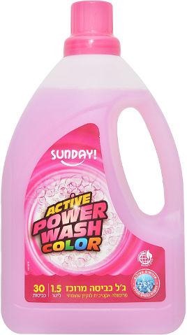 ג'ל כביסה מתאים לכביסה לבנה וצבעונית