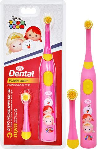 DENTAL מברשת שיניים חשמלית לילדים נטענת - צומצום