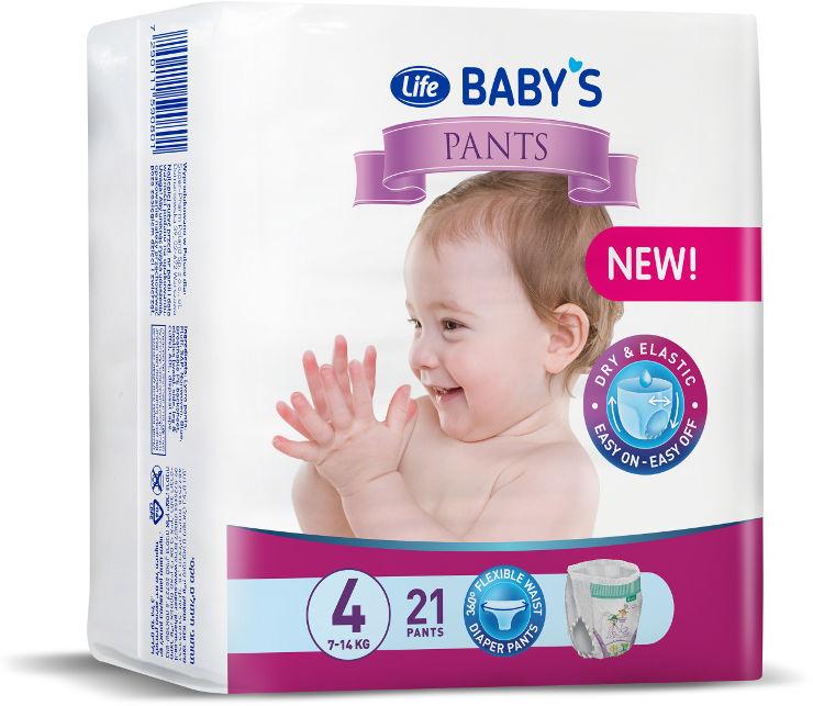 BABYS תחתוני חיתול PANTS מידה 4