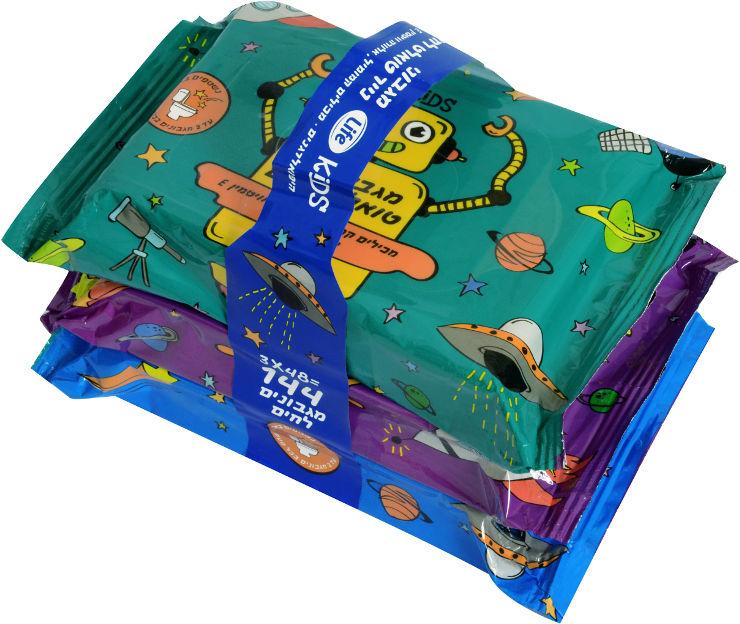 KIDS מגבוני נייר טואלט לחים