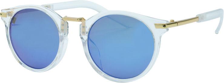 משקפי שמש לילדים ER-1436-שקוף וזהב