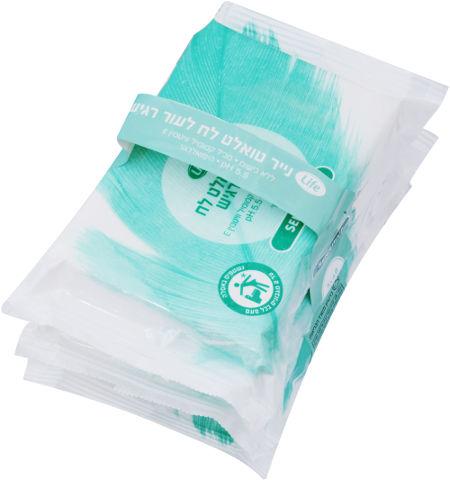 מגבוני נייר טואלט לח לעור רגיש
