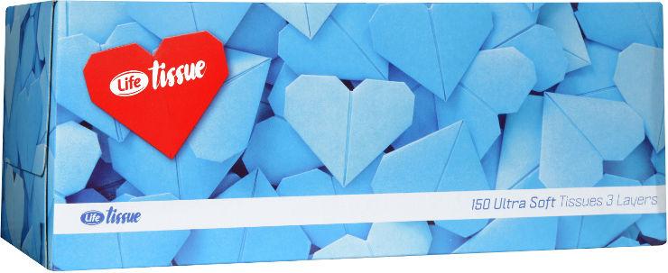 טישו 3 שכבות אולטרה סופט גזרי לבבות
