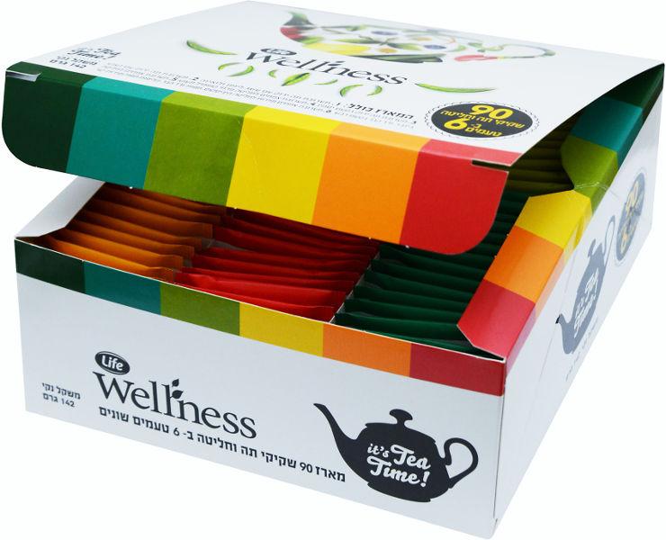 Wellness מארז תה משולב 6 טעמים