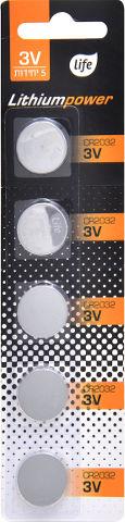 סוללות ליתיום CR2032 V3