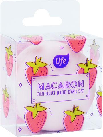 ליפ באלם מקרון בטעם תות