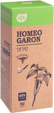 HOMEO GARON סירופ