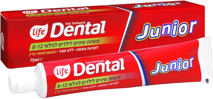 DENTAL משחת שיניים לילדים ג'וניור לגילאי 6-12