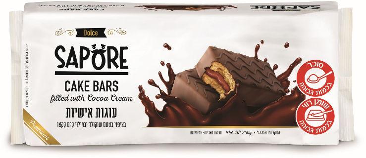 עוגות אישיות בציפוי בטעם שוקולד במילוי קרם קקאו