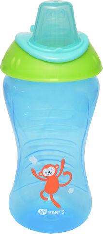 """לייף בייביז בקבוק אימון לתינוק ללא נזילות 9+ חודשים 340 מ""""ל"""