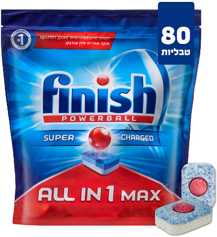 ALL IN 1 MAX טבליות מדיח