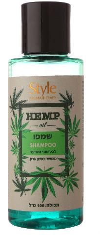 שמפו HEMP OIL לכל סוגי השיער