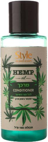 מרכך HEMP OIL לכל סוגי השיער