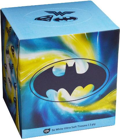 ממחטות נייר רכות במיוחד תלת-שכבתיות באטמן