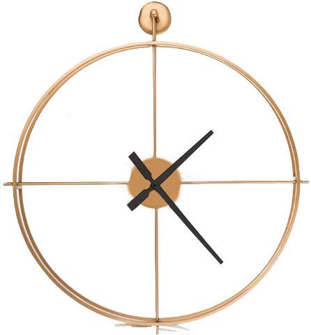 שעון קיר ראונד זהב