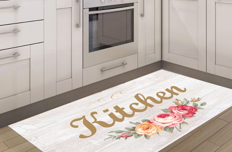שטיח מטבח - מטבח רומנטי