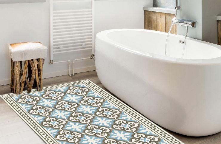 שטיח אמבטיה - גוליה טורקיז