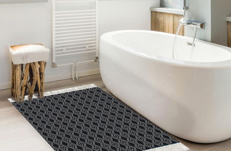 שטיח אמבטיה - גלים