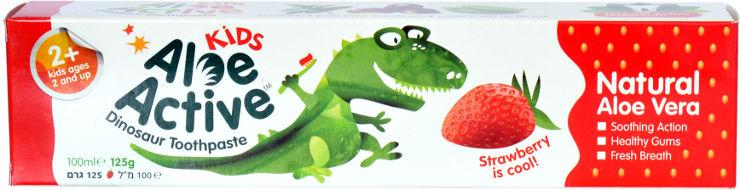 קידס משחת שיניים לילדים עם ג'ל טבעי ומרגיע לגילאי 2+