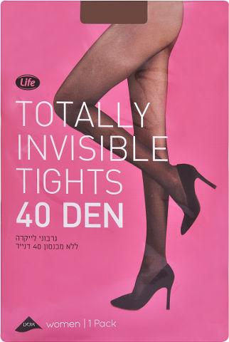 גרבוני לייקרה ללא מכנסון 40 דנייר גוף מידה 2