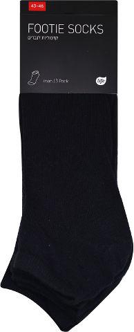 גרביים גבר שחור 43-46