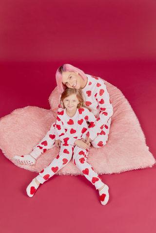 Mommy & Me עקבית פלאפי בנות ורוד 25-29