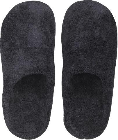 נעלי בית מפנקות לחורף - שחור