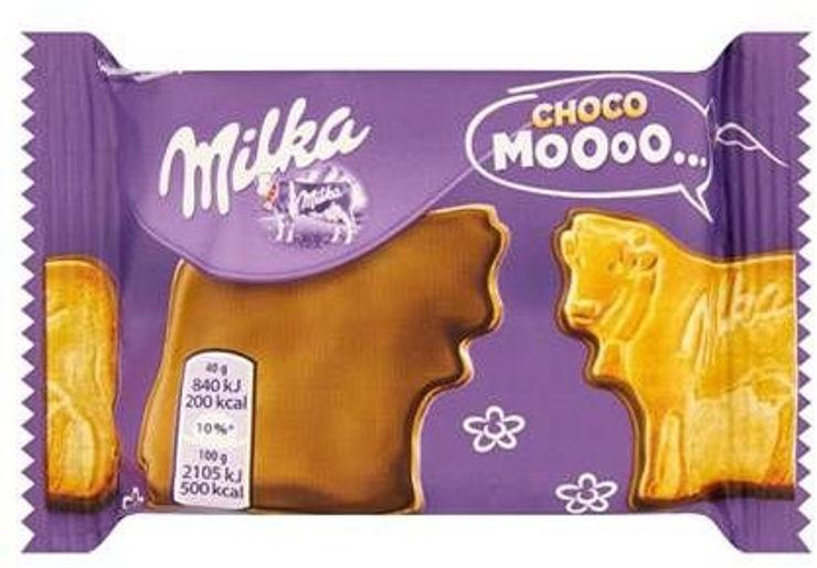 מוו-ביסקוויט מצופה שוקולד חלב