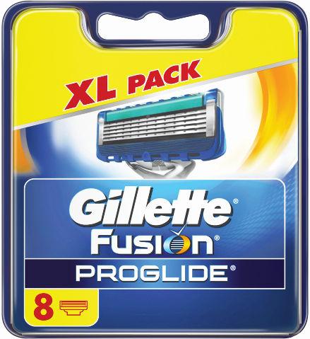 פיוז'ן פרוגלייד מחסנית סכיני גילוח רב פעמיים - XL PACK