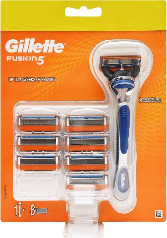 פיוז'ן 5 מכשיר + סכיני גילוח