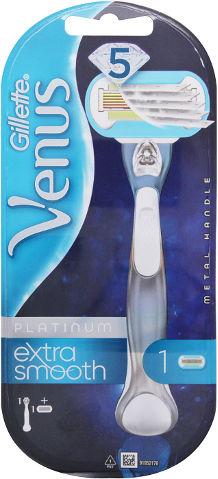 פלטינום מכשיר גילוח רב פעמי +סכין