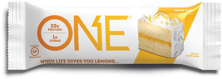 חטיף עוגת לימון