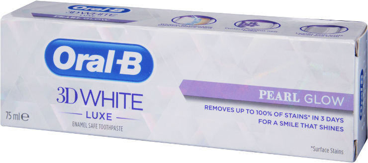 3D WHITE משחת שיניים - לבן פנינה
