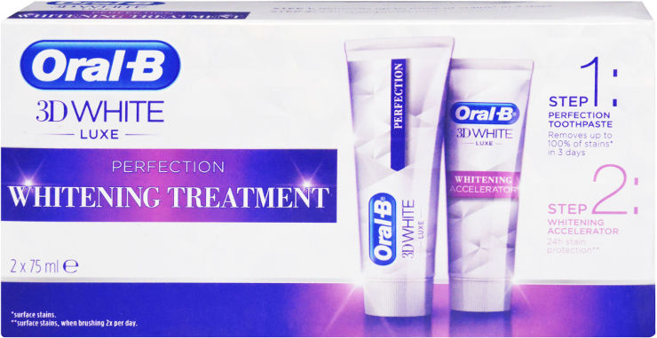 3D WHITE ערכת הלבנה לשיניים המכילה: משחת שיניים להלבנה + מאיץ הלבנה