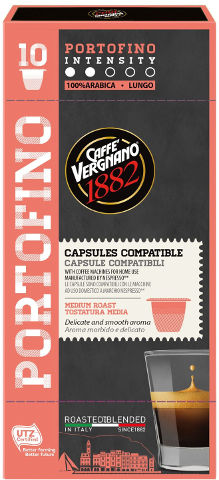 קפסולות קפה אספרסו  PORTOFINO תוצרת איטליה