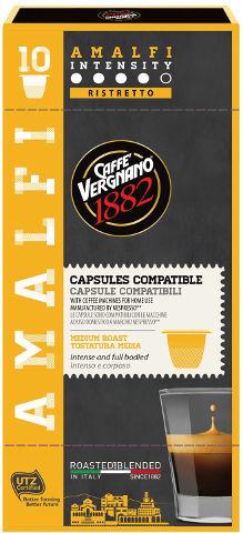קפסולות קפה אספרסו AMALFI תוצרת איטליה