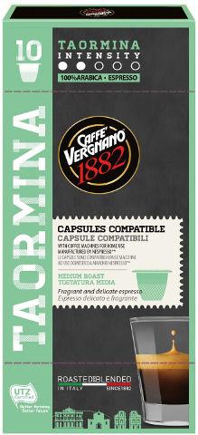 קפסולות קפה אספרסו TAORMINA תוצרת איטליה