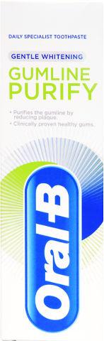 GUM PURIFY משחת שיניים - הלבנה עדינה