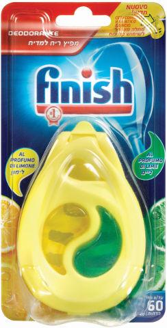 מפיץ ריח למדיח עד 60 הדחות בניחוח לימון