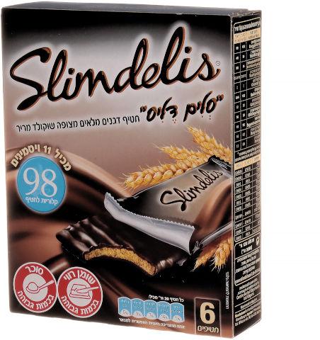 חטיף דגנים מלאים מצופה שוקולד מריר