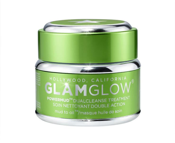 POWERMUD DUAL CLEANSE TREATMENT - GLAM מסכה לניקוי הזנה וחידוש העור בגודל לנסיעה