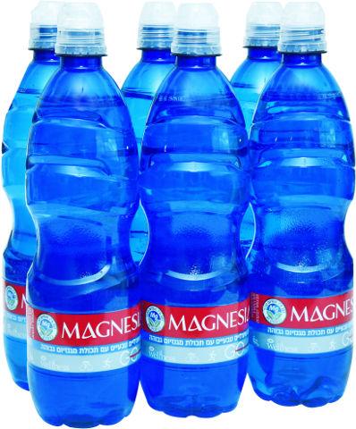 Wellness מגנזיה מים מינרליים טבעיים עם תכולת מגנזיום גבוהה