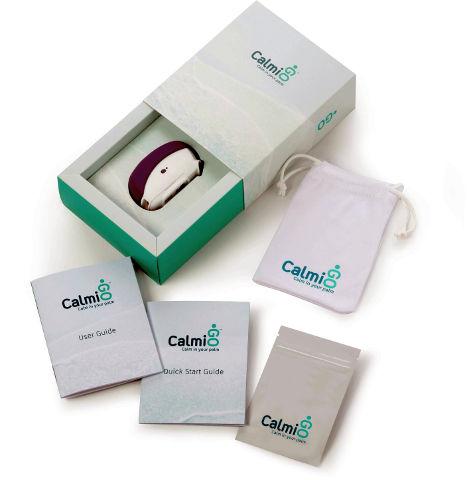קלמיגו מכשיר ביו פידבק נשימתי לטיפול בחרדה וסטרס