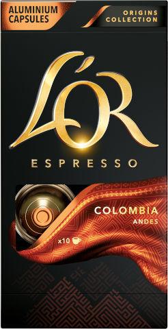 קפסולות קפה אספרסו קולומביה 8